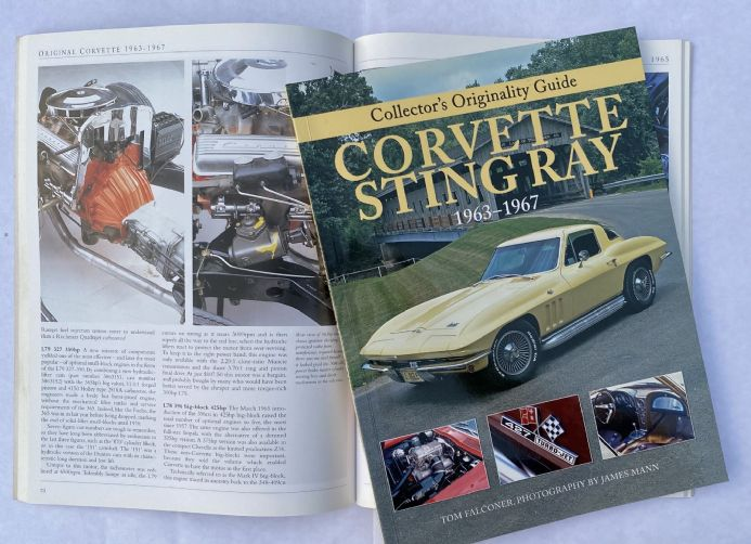 Collectors Originality Guide Corvette Sting Ray 1963-1967 by Tom Falconer